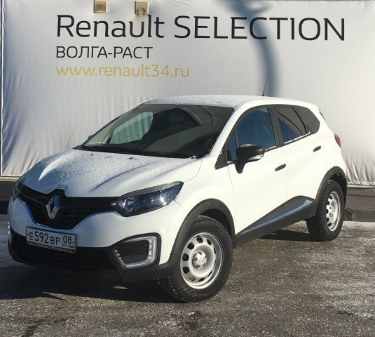 Renault Kaptur 2017 года