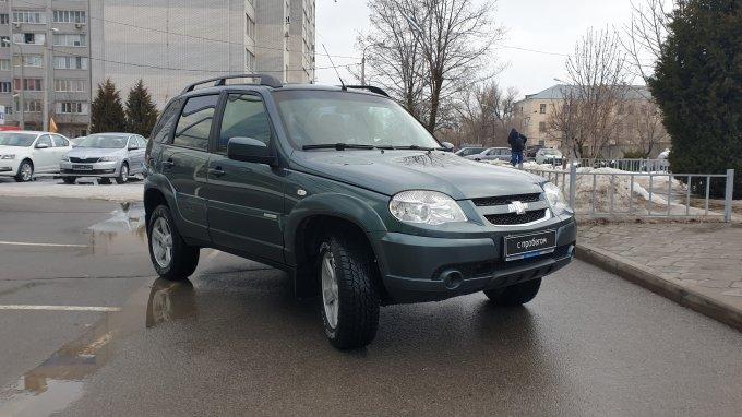 Chevrolet Niva 2015 года