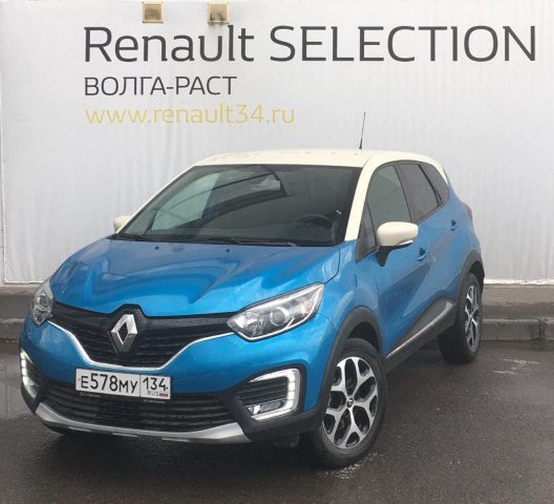 Renault Kaptur 2016 года