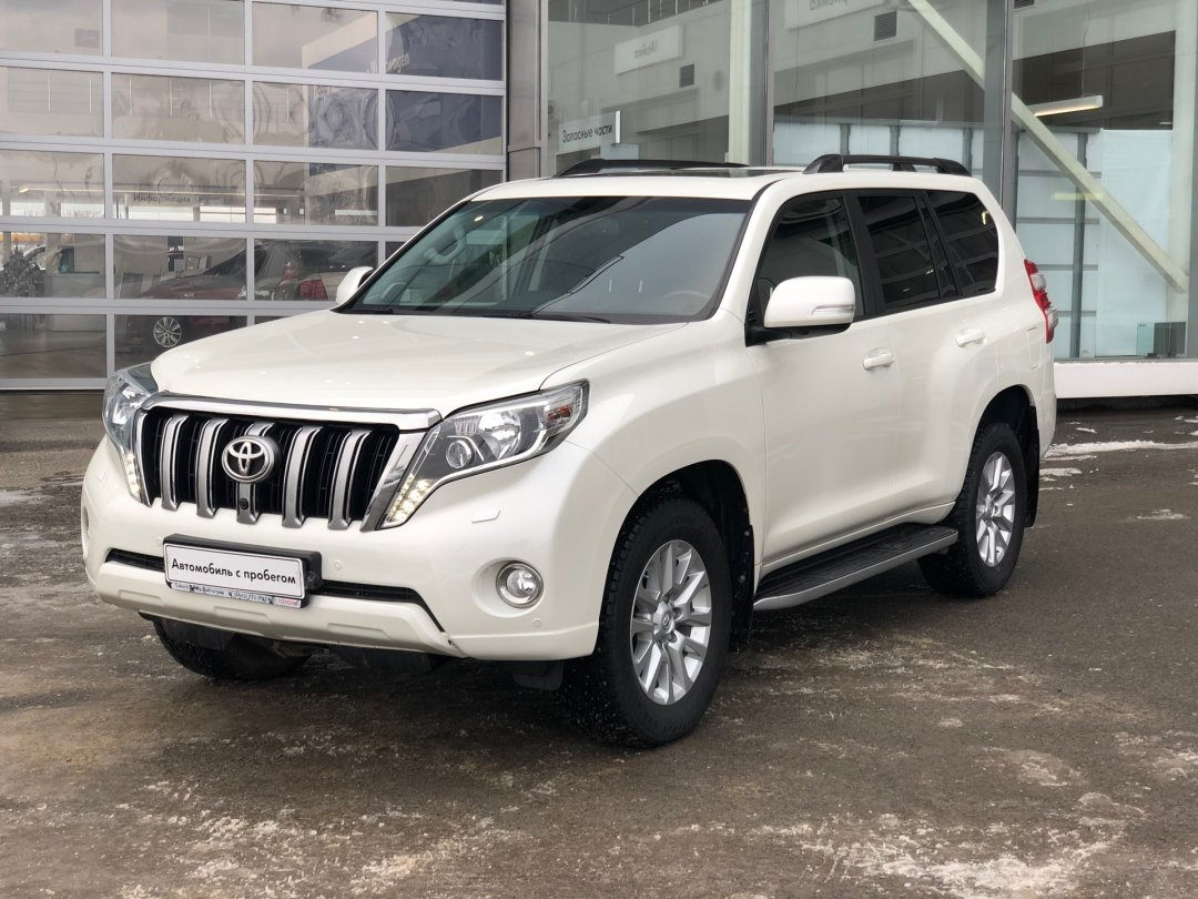Toyota Land Cruiser Prado 2017 года
