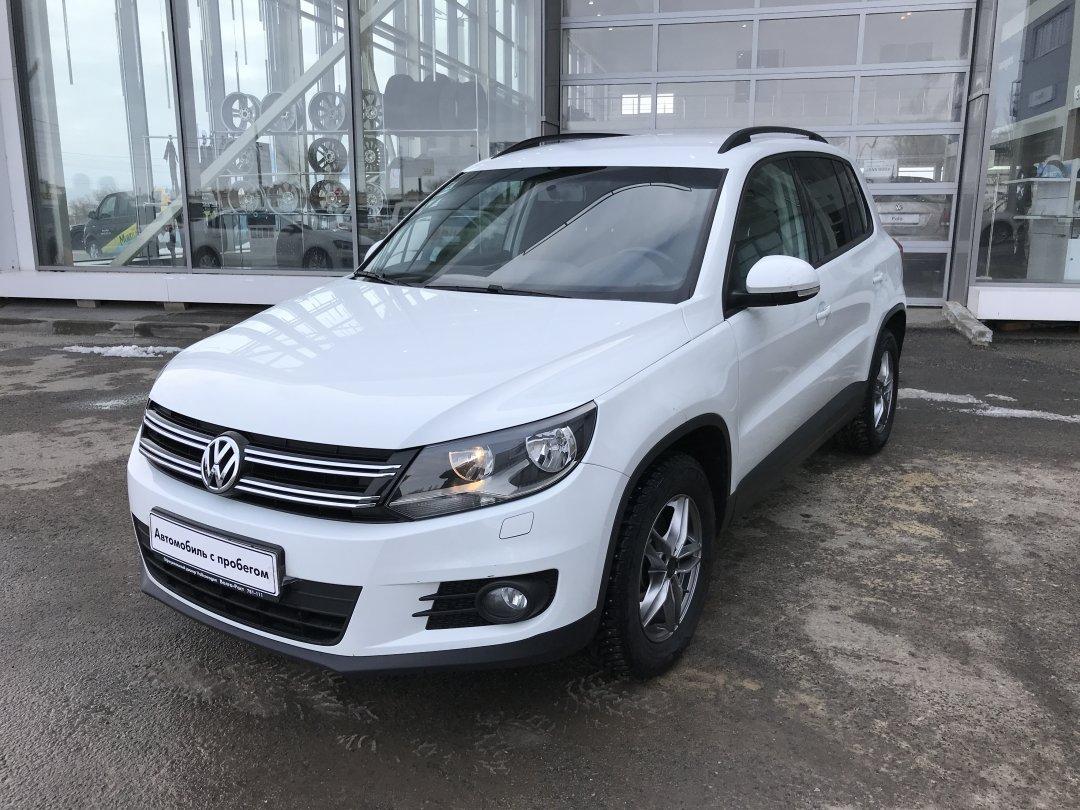 Volkswagen Tiguan 2016 года