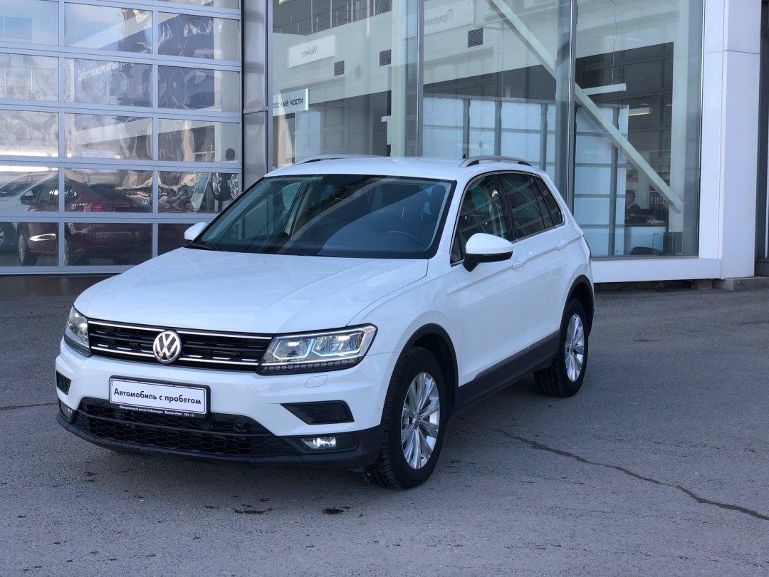 Volkswagen Tiguan 2017 года