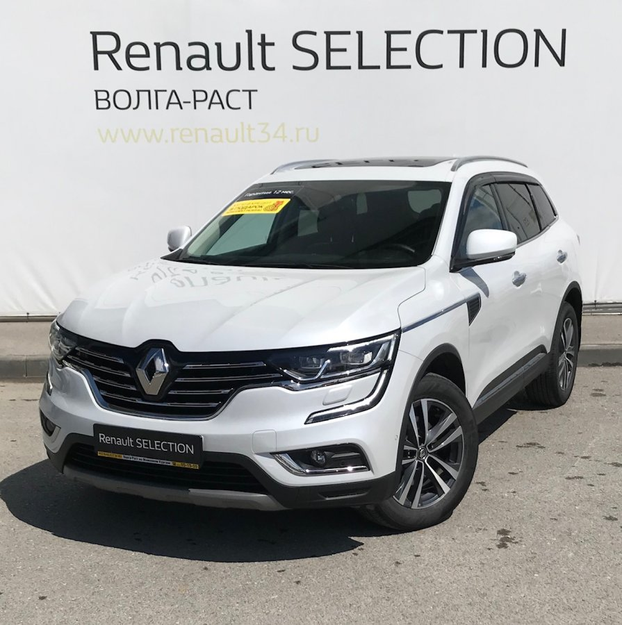 Renault Koleos 2019 года